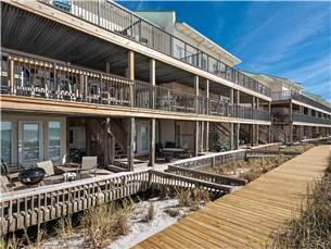 Back Deck and Boardwalk Overlooking Gulf