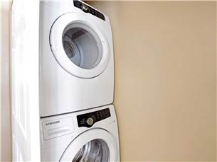Washer and Dryer in Townhome