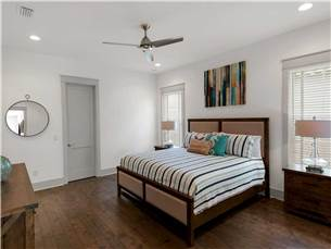Master Bedroom on 1st Floor with King Bed