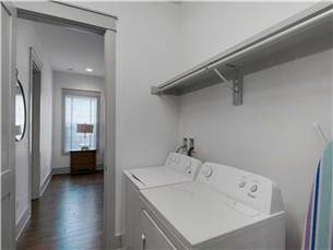 Washer and Dryer on 1st Floor