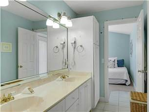 Jack and Jill Bathroom between Guest Bedrooms
