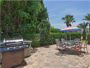 Outdoor Grill and Seating