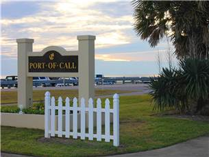 Port of Call Neighborhood is Footsteps to the Beach