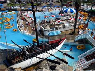 One Adult Admission into Big Kahuna's Water Park in Season