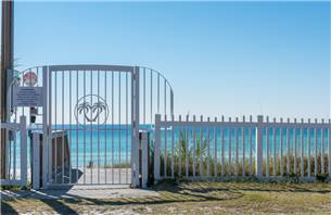 Private Access to Beach