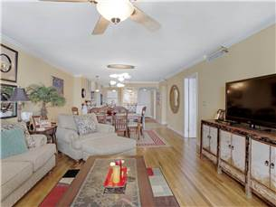 Overview of Living - Dining Area