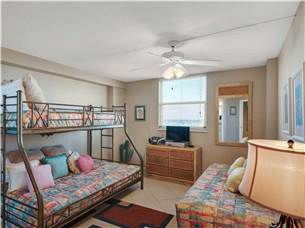 Guest Bedroom with Triple Bunk and Twin Bed