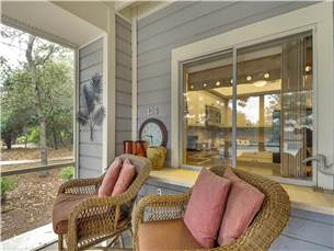 Screened Porch with Kitchen Access