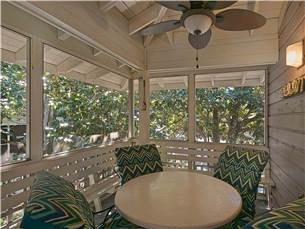 Inviting Screened Porch