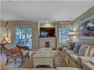 Large Flat Screen TV in  Living Area
