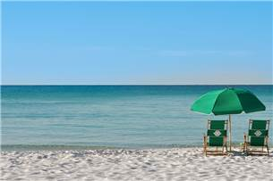 Complimentary Beach Chair Service Provided in Season