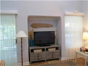 Flat Screened TV in Living Area
