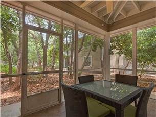 Screened Porch Surrounded by Trees