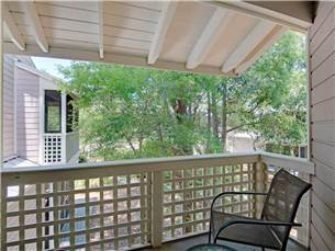 Private Screened Porch from Master Bedroom