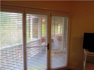Private Entry to Screened Porch from Master