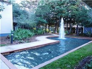 Fountains Outside of Unit