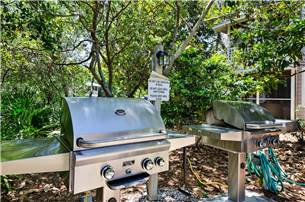 Gas Grills on Property