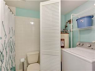 King Guest Bathroom with attached Laundry