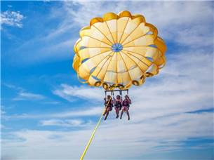 One Adult Admission Free Parasailing