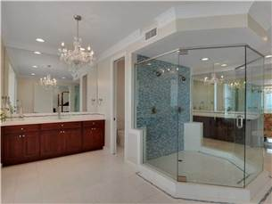 Master Bathroom with Huge Walk-In Shower