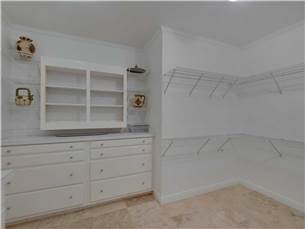 Master Walk-In Closet on 3rd Floor