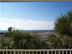 View of Beach from Patio