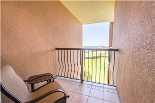 Private Balcony off Guest Bedroom