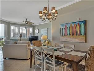 Dining and Living Areas with Great Views!