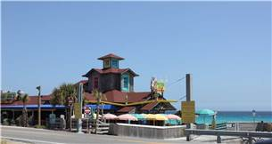 Pompano Joes has great food and fun right across the street