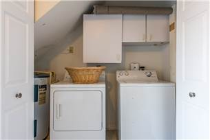 Washer and Dryer in Garage on 1st Floor