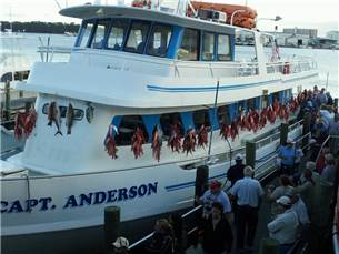 Free Adult Fare on the Capt. Anderson Cruise