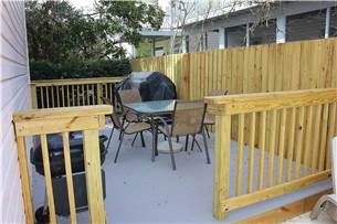 Grilling Area off Pool Deck