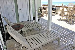 Patio with lounges