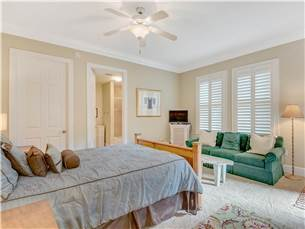 Guest Bedroom with Sitting Area