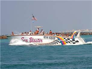 Free admission to the Sea Blaster