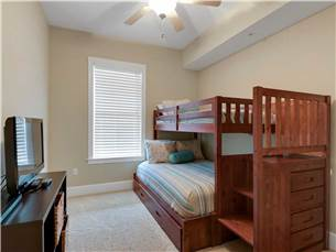 Guest Bedroom #2 with Triple Bunk and Twin Trundle
