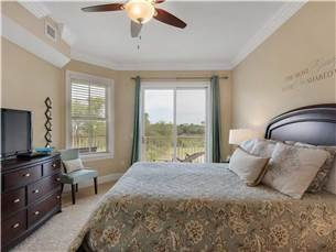 Master Bedroom with Queen Bed and Flat Screen TV