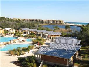 Property pool area and Redfish Lake and the Gulf