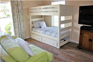1st floor master with additional bunk bed
