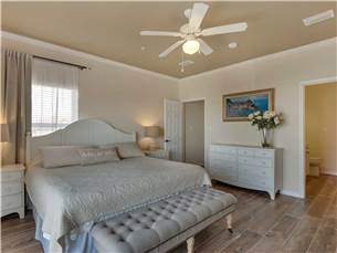 Large Master Bedroom on 3rd Floor with King Bed