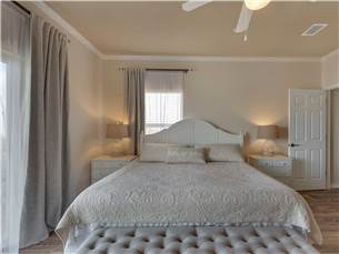 Master Bedroom on 3rd Floor with King Bed
