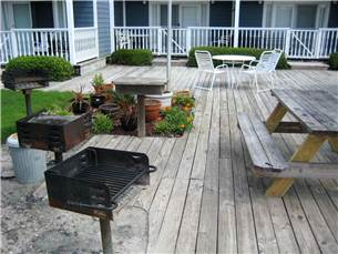 Barbecue Grilling Area