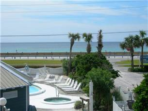 View of Beach and Pool