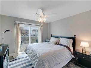 Guest Bedroom with Access to Large Deck