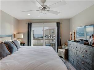 Master Bedroom has Access to Large Deck