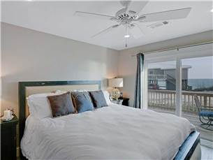 Master Bedroom with View of Gulf