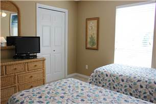 Guest Bedroom with Flat Screen
