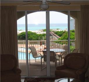 Stunning Views of the Gulf and Pool Area from San Remo #209