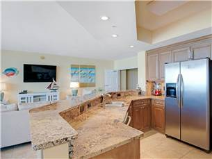 Kitchen with Satinless Appliances