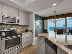 Kitchen with Spectacular View